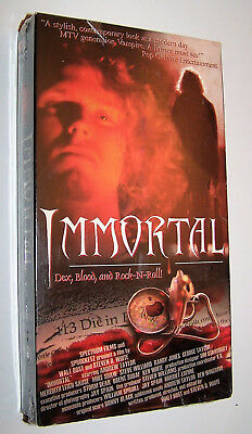 Brand New! Vintage Immortal VHS Video Cassette Movie - Rock n' Roll Vampire