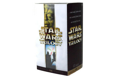 Star Wars Trilogy VHS Set A New Hope The Empire Strikes Back Return of the Jeti