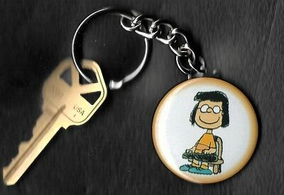MARCIE of Peanuts Charlie Brown by Charles Schulz Key Chain KEYCHAIN