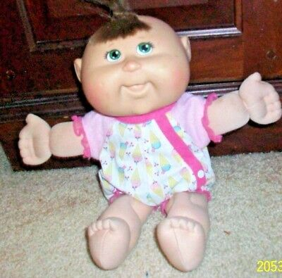 """Vintage Small (10"""") Cabbage Patch Girl Doll  1978 2008  25th edition"""