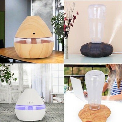 300ML Air Aroma Oil LED Diffuser Ultrasonic Humidifier Aromatherapy Purifier