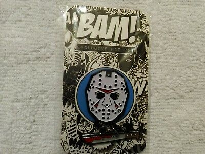 BAM BOX KANE HODDER EXPANSION PACK JASON VOORHEES PIN #500 Sold OUT