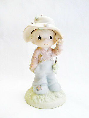 NIB VINTAGE 1986 PRECIOUS MOMENTS My Love Will Never Let You Go 103497