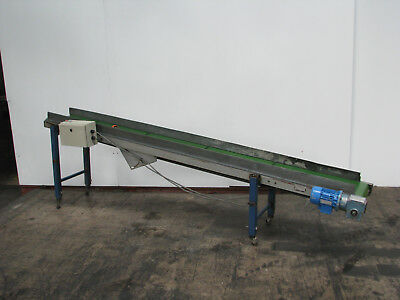 Motorised Belt Conveyor - 2.8m long - Bofab