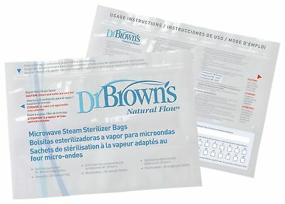 Dr Browns Microwave Steam Steriliser Bags. From the Official Argos Shop on ebay