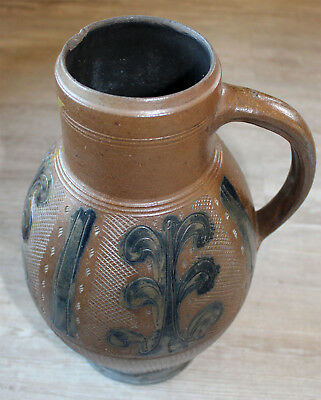 Large Stoneware Mug Muskau Around 1800 ORIGINAL