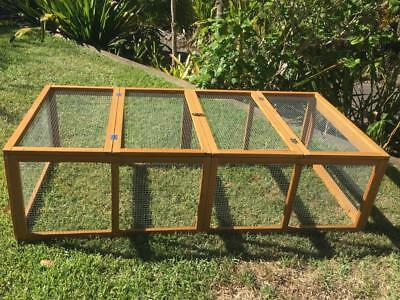 Chicken coop LARGE Run Guinea Pig Cage Villa Extension Rabbit hutch house pen
