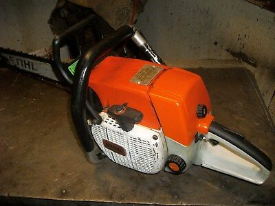 """Stihl  038 Super Chainsaw With 25"""" Bar  Good Running Used Saw"""