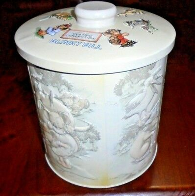 Blinky Bill collectable canister tin from Australia Post 2014 ~  Near new!