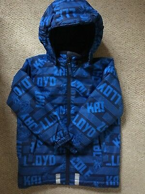 Boys LEGO WEAR Winter Coat Warm Hood, Age 6 years - Exc cond