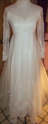 Vintage Wedding Gown by Bridallure, for Repurpose, Size Unknown