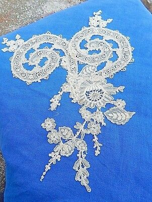 Antique Hand Made Lace Inset