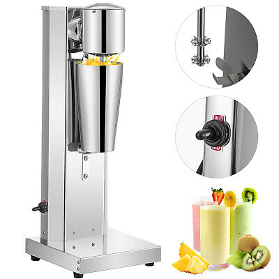 Commercial Milkshake Maker Machine  Frother Cup Smoothie Mixer Stainless Steel