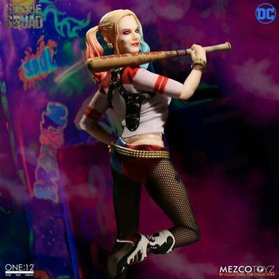 NEW! Mezco Toyz One:12 Collective DC Comics Suicide Squad Harley Quinn