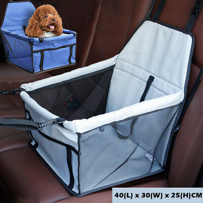 Portable Pet Carrier Dog Cat Car Gear Booster Seat Soft Travel Bag Foldable Cage