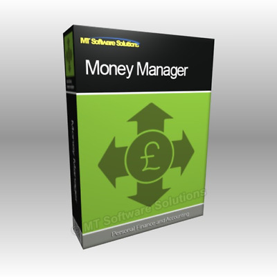 Money Manager Accounting Finance Book Keeping Software for Microsoft MS Windows