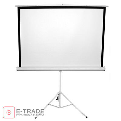 Projection Screen + Tripod // for DLP/LCD Projector - 158 x 158cm 4:3 and 16:9