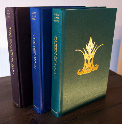 TRIDENT TRILOGY 3 Vols Mark Alan Smith IXAXAAR Queen Of Hell Occult Grimoire