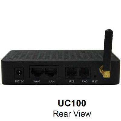 dinstar UC100 1 Channel GSM,FXS ,FXO ,SIP,WiFi Gateway,IMEI / pin code modified