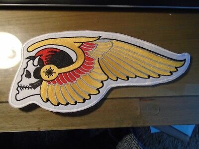 Motorcycle Jacket Back Patch Large your choice (please look at pictures)