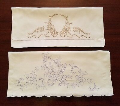 Pair Of Large Decorative Pillow Cases