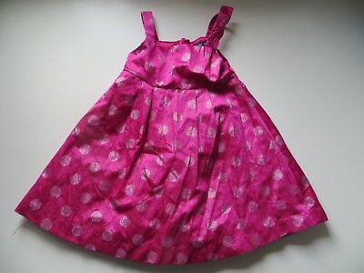 BabyGap Girls Pink Spotty Dress 12-18 months Baby Gap