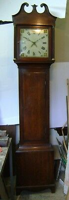 Antique Grandfather Clock - 30 hour.