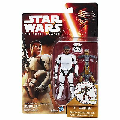 Star Wars: The Force Awakens 3.75 inch Desert Mission Finn (FN-2187)
