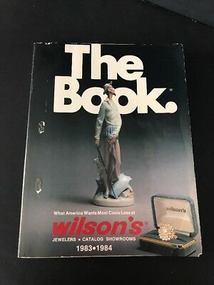 THE BOOK - Wilson's Jewelers 1983-84 Catalog - Department Store Collectibles
