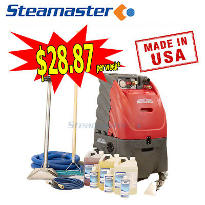 CARPET STEAM CLEANER CLEANING MACHINE EXTRACTOR AMERICAN SNIPER 300 accessories