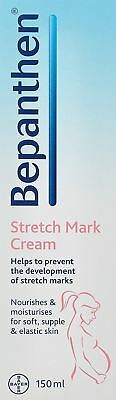 Bepanthen Pregnancy Skin Stretch Mark Cream 150ml Single & Multipacks - New