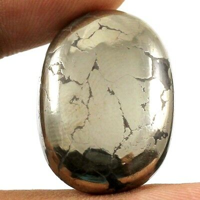 52.30ct Natural lovely  Designer Apache Gold Pyrite Oval Gemstone Loose Cabochon