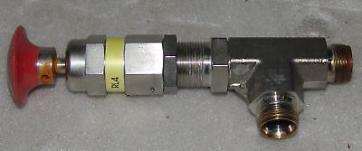 Swagelok low-pressure relief valve SS-RL4S8-MO