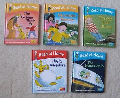 Oxford Reading Tree Read At Home Hardback Books (X5)