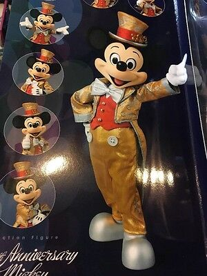 Mickey Mouse Tokyo Disney Resort 30th Limited Figure Medicom Toy Gold ver. 1/6