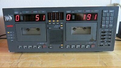 LANIER Advocate V LCR-5 4-Channel Cassette w/ KEY and Manual