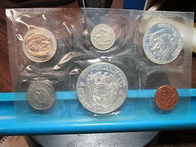 1970 - Panama - 6 Coin Proof Set with Silver (#1)