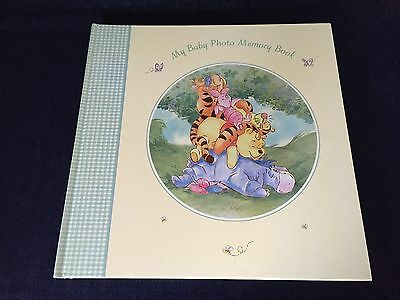Disney's Winnie The Pooh My Baby Photo Memory Book Unused