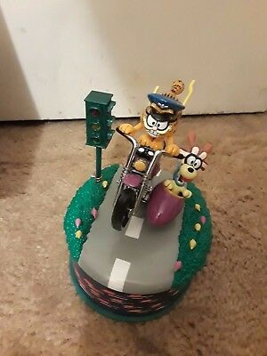 Garfield Collectible Deluxe Lighted Action Musical With Garfield & Odie