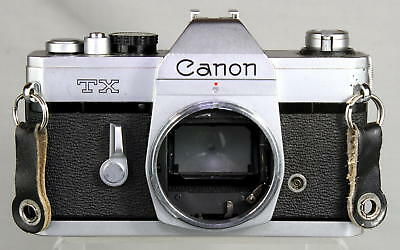 Canon TX  35mm Single Lens Reflex Film Camera Looks and Works Great