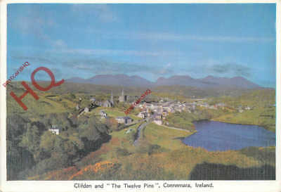 Picture Postcard- Connemara, Clifden And 'The Twelve Pins'
