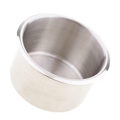 90mm Stainless Steel Recessed Cup Drink Holder for Marine Boat RV Camper