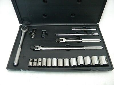 "KD TOOLS 20 PC HD Set 1/2"" Ratchet, Breaker Bars, Sockets 7/16""~1-1/4"" USA"
