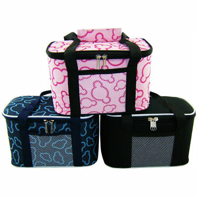 Pro Insulated Thermal Cooler Lunch Box Carry Tote Picnic Case Hand Storage Bag