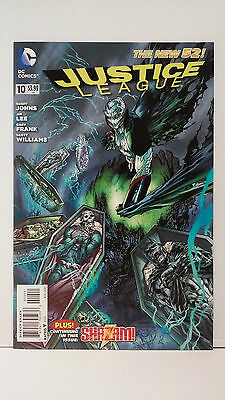 JUSTICE LEAGUE (2011) #10 by GEOFF JOHNS from DC COMICS! NEW 52!
