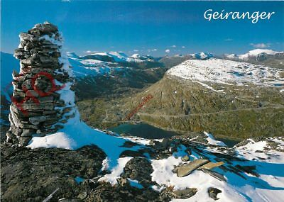Picture Postcard-:Geiranger, Towards Dalsnibba