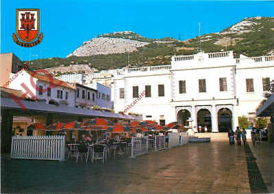 Picture Postcard:-Gibraltar, Rear Of House Of Assembly
