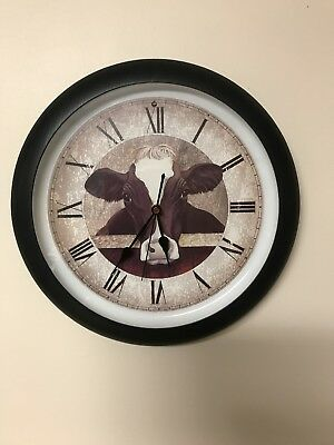 Cow Wall Clock That Moos