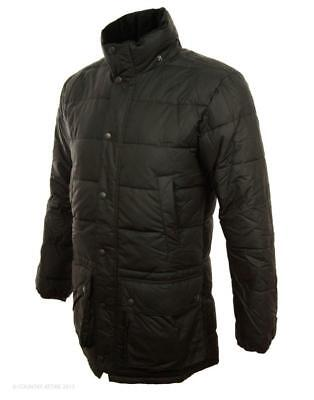 NWOT Barbour Men's HEMMINGFORD Quilted Waxed Jacket Black sz XL