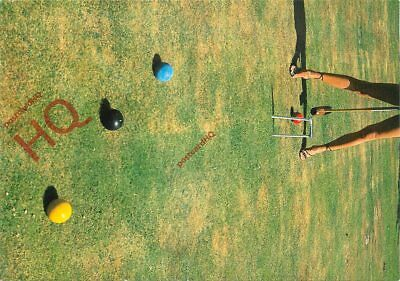 Picture Postcard~ Croquet, Anyone?, By Paul Huf [Art Unlimited]